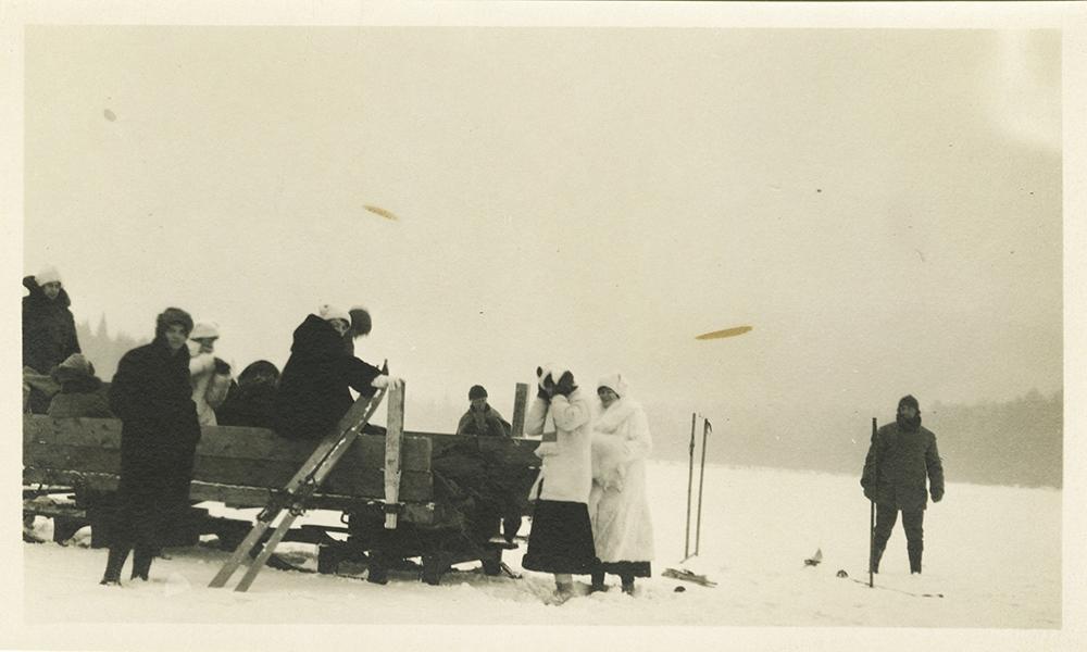 A Trip Onto Au Sable lake 1914