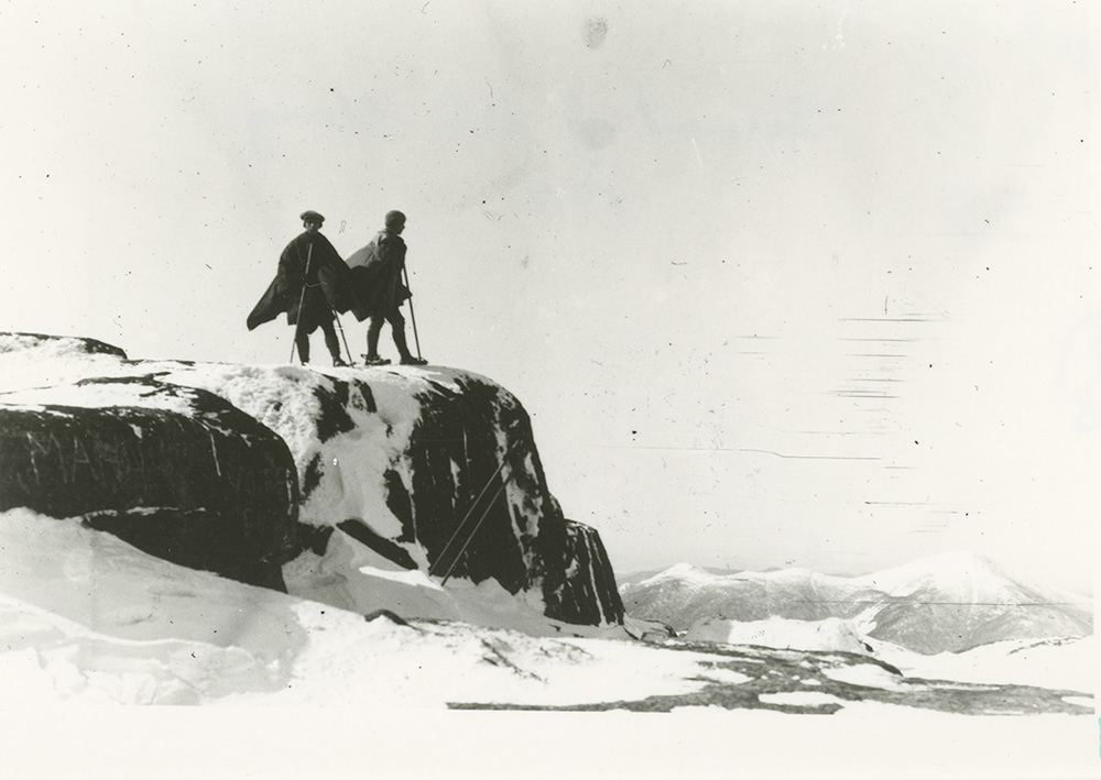 Langmuir and Other on Mt. Marcy