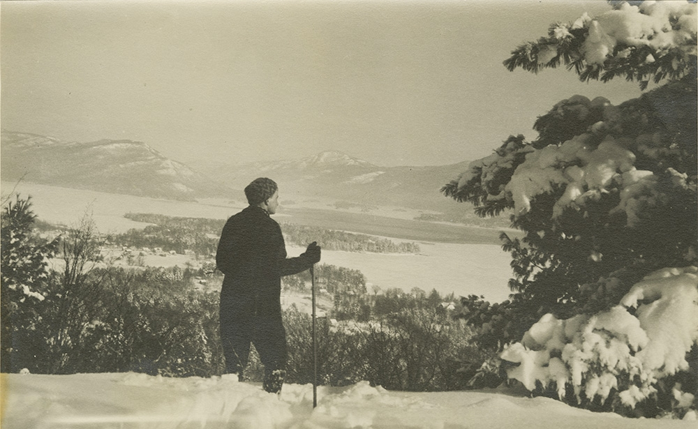 View from Appy Top, 1930s. Note: No Sagamore