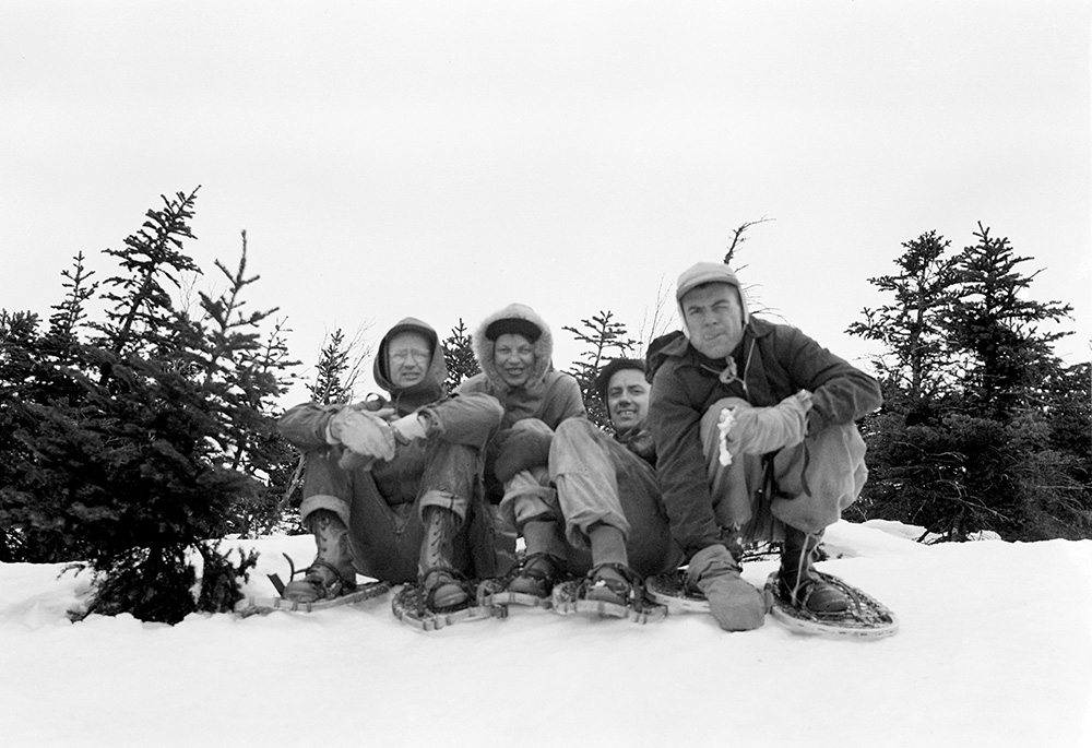 On Summit of Seward Mt., 4/8/1956