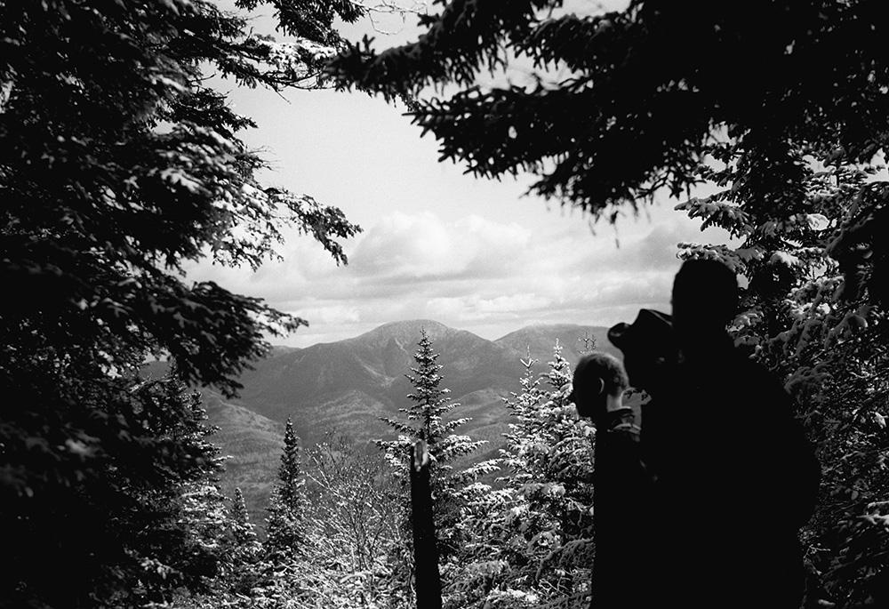Giant and Rocky Peak Ridge from Sawteeth, 10/14/1950