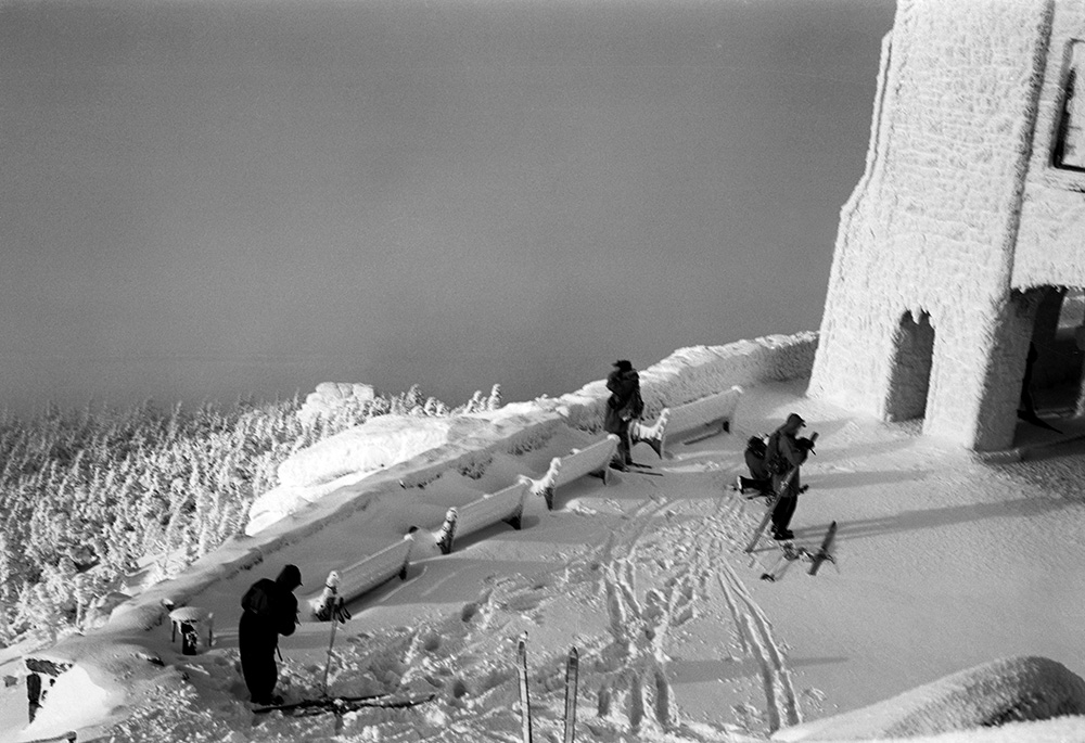 Scene at the Castle, Whiteface Mt., 2/5/1949