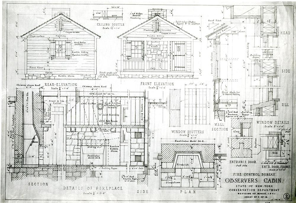 Observer's Cabin Plan