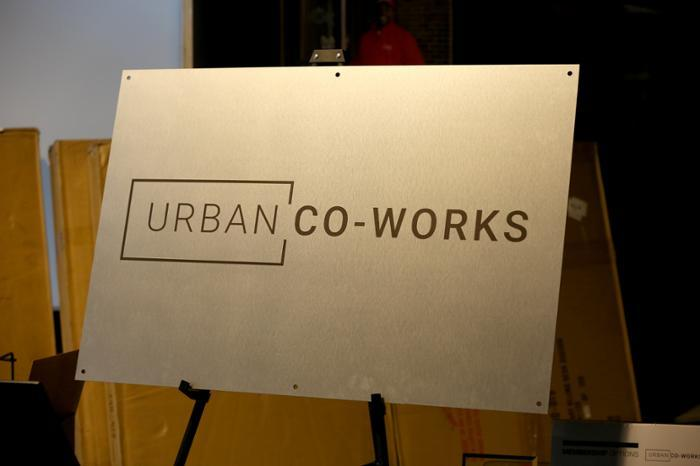 Urban Co-Works sign