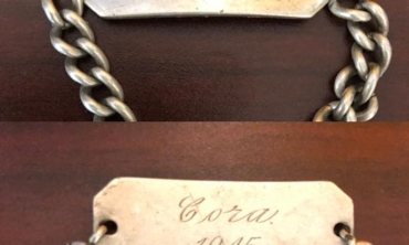 A special bracelet lost on campus for nearly 70 years finds its way home