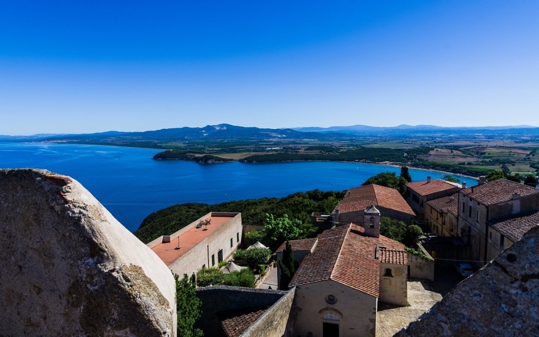 A view of Populonia (Tuscany, Italy)