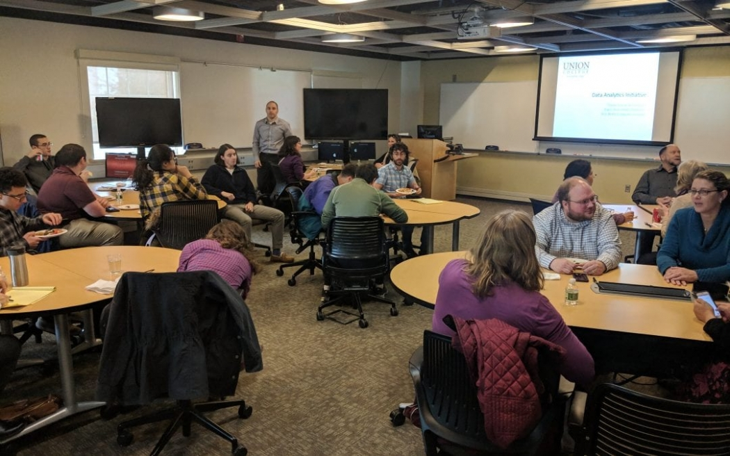 Community gathers to launch the Center for Data Analytics