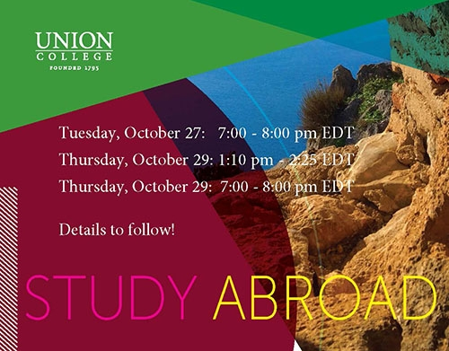 Save the Date - Virtual Study Abroad Fair