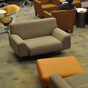 study spaces - large chairs