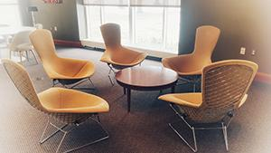 Lally Reading Room chairs