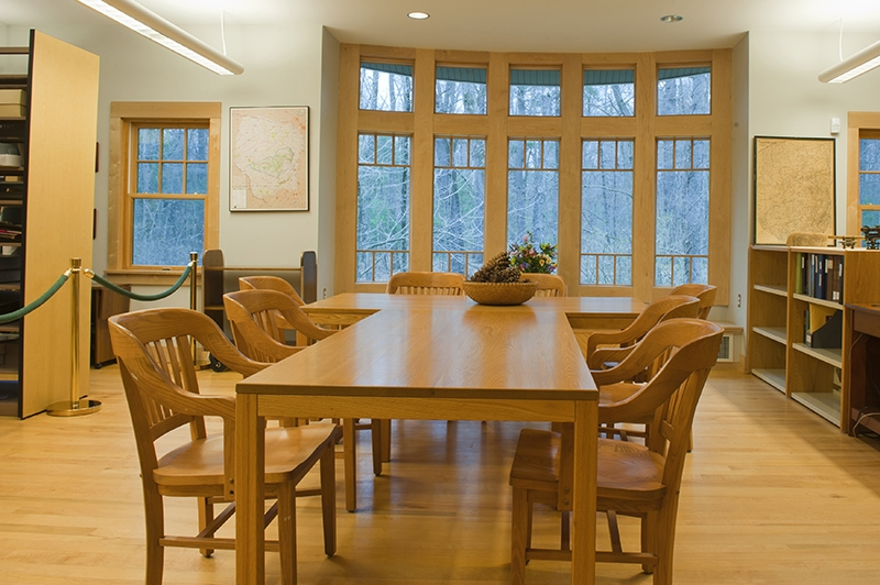 Adirondack Research Library reading room
