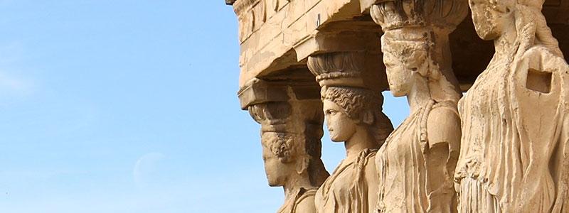 The Erechtheion in Greece