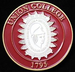 Union College Challenge Medal another side