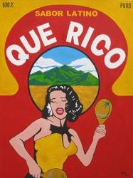 """Que Rico"" by Anthony Montes"