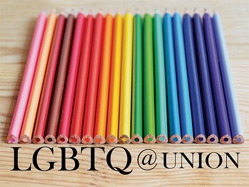 LGBTQ @ Union graphic