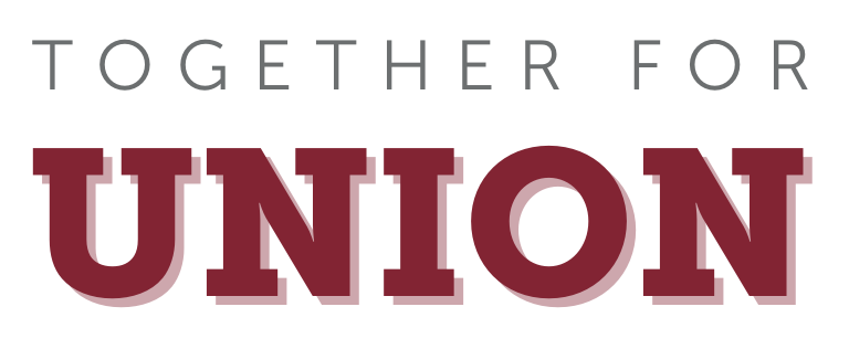 "A logo that reads ""Together for Union"""