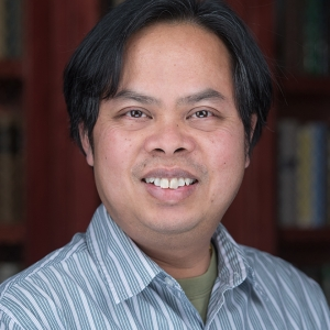 Bunkong Tuon, associate professor of English
