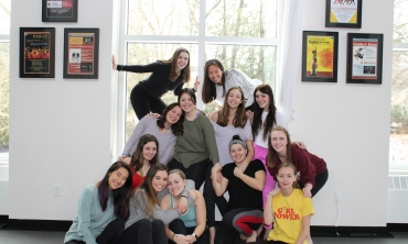 Dance students participate in international festival