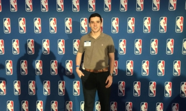 Robert Harrington participated in the final round of 2019 NBA Hackathon