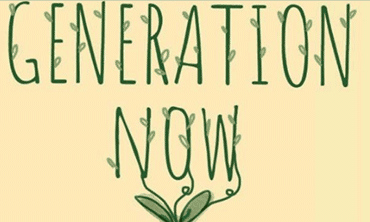 """Generation Now"" book cover"