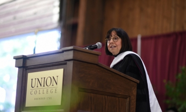 Susan Zirinsky, president and senior executive producer of CBS News, was the featured speaker at Commencement 2019.