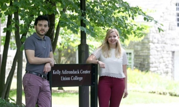 Sanan Hajiyev '19 and Anna Gagion '19 are the latest recipients of a summer research fellowship program offered through the Kelly Adirondack Center.