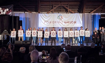 "$51 million gift, largest in school history, highlights launch of ""Powering Union"" campaign"