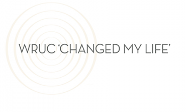 WRUC 'changed my life'