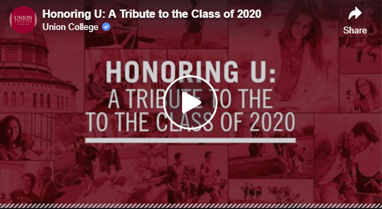 Honoring U: A Tribute to the Class of 2020