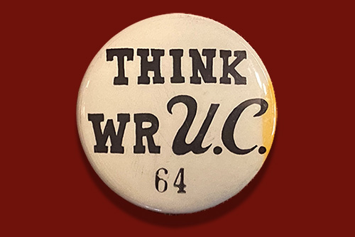 Old WRUC button